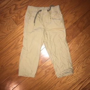 Baby gap toddler boy lined pants size 18-24 month